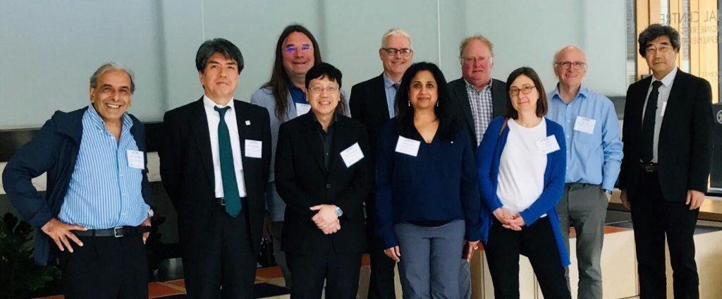 Consortium members meeting in Toronto