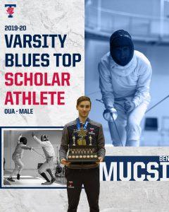 Varsity Blues Top Scholar Athlete