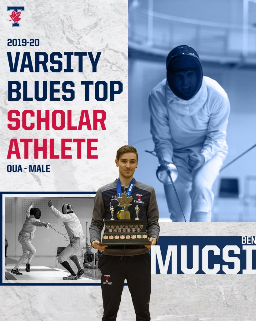 Varsity Blues Top Scholar Athlete