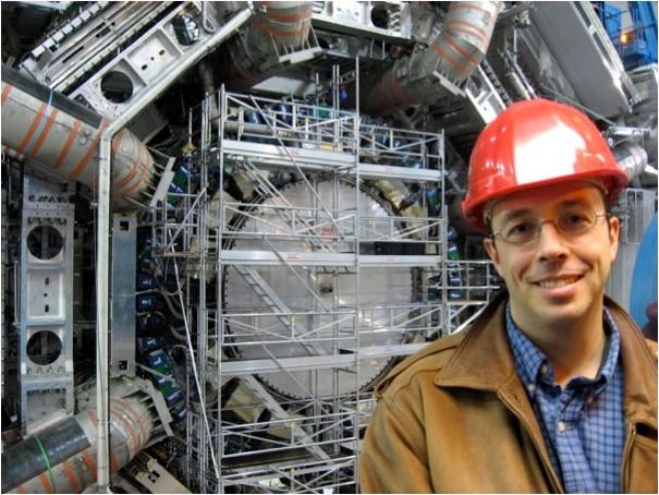Pierre Savard at CERN