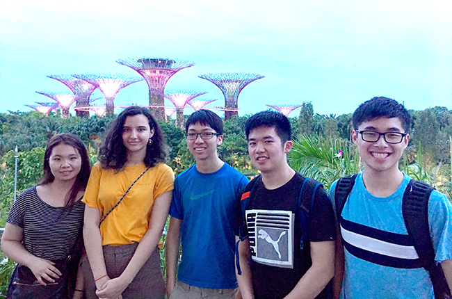 ESROP Global students in Singapore