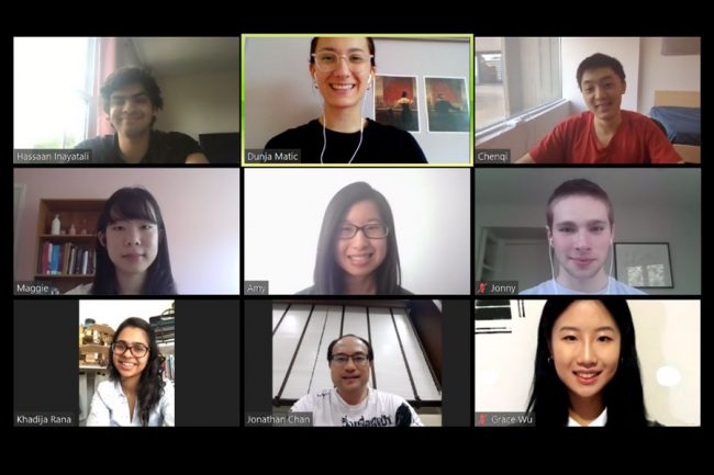 KMUTT virtual research meeting