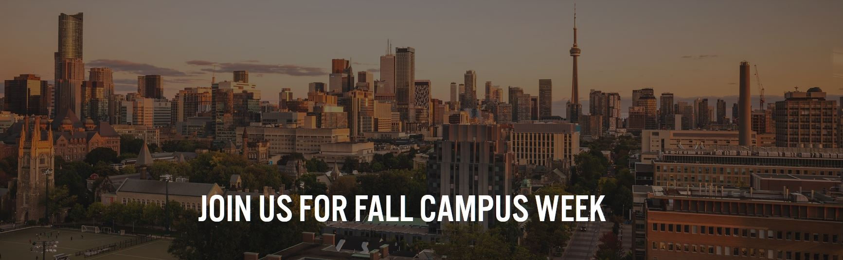 Join us for Fall Campus Week